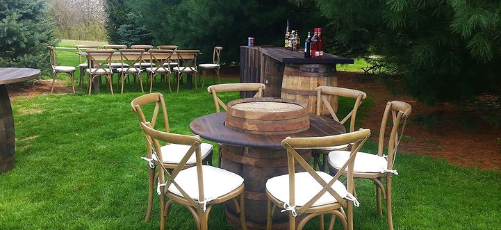 Outdoor Party Furniture for Rent