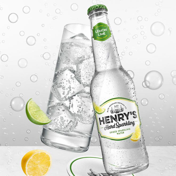 Henry's Hard Sparking Lemon Lime