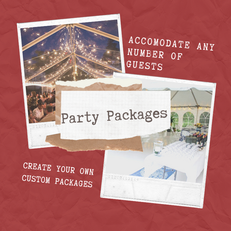 Specialized Party Packages