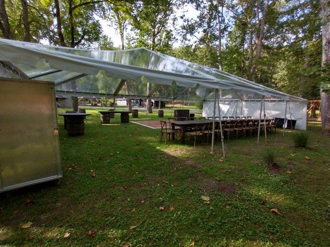 Clear Top Tent