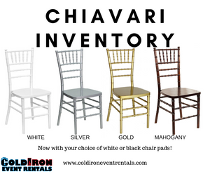 Cincinnati Wedding Chair Rentals