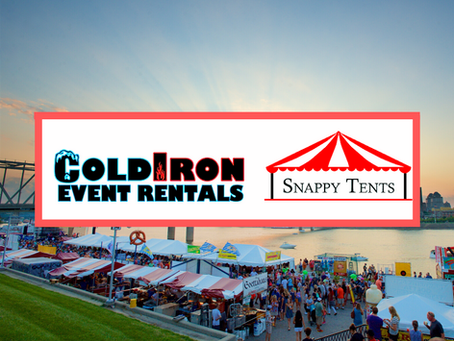 Exciting News - ColdIron Event Rentals