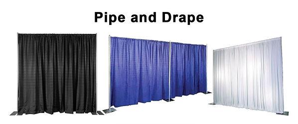 Pipe and Drape Rentals Cincinnati