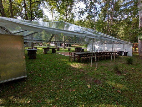 Outdoor Tents for Social Distancing - Clear Top Tents