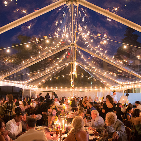 Events to Throw Under a Clear Top Tent