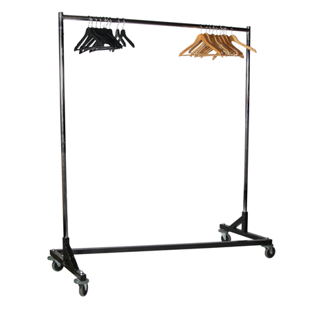 Clothes Rack with Hangers
