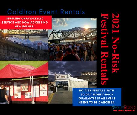 2021 No-Risk Festival Rentals