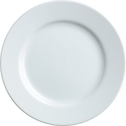 White Bread and Butter Plate