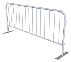 White Bike Rack Fencing