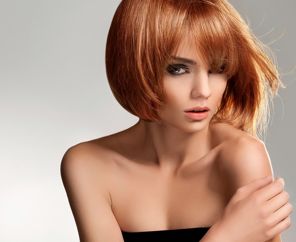 hair color and haircut from Wave salon