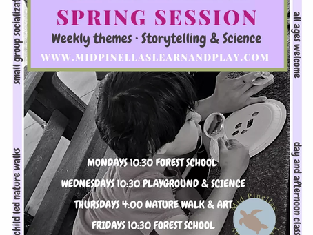 Spring Session 2021- Storytelling, Science, and Art Oh My!