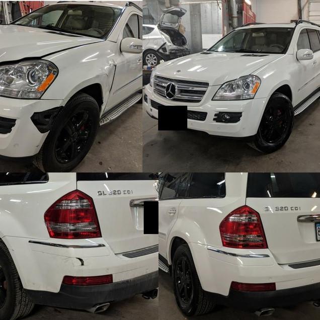 Mercedes Body Repair
