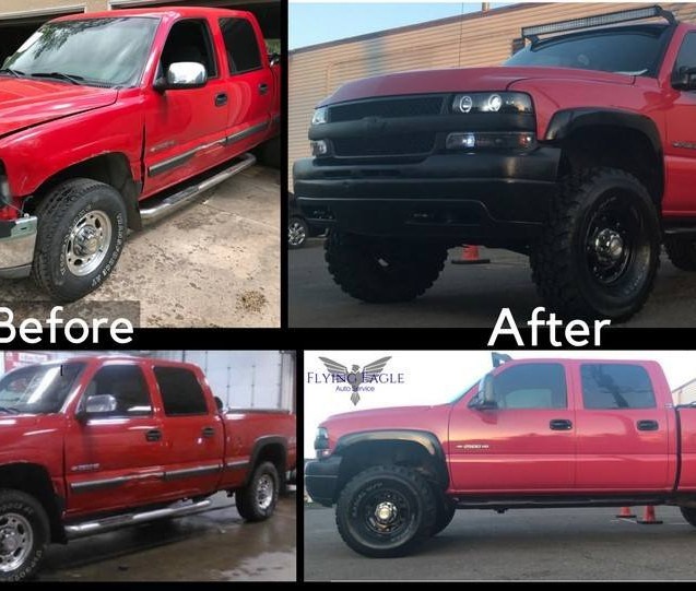 Before & After