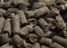 Sheep manure pellets