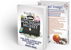 Mom Dollar Money Book Graphic