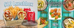 Lunchbox & Mediterranian- Back of Breakf