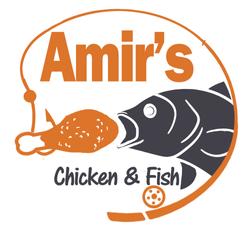 Logo Design-FISH EATING CHICKEN-blue ora