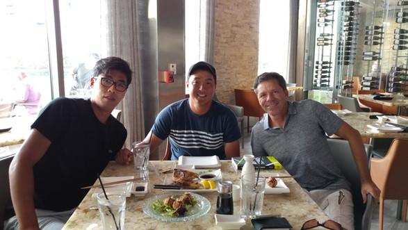 Hyeon Chung, Jimmy Arias, & Sky