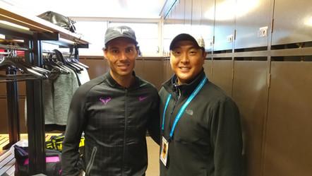 Nadal & Sky at Barcelona
