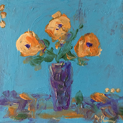"""Life in Bloom 8"""" x 8"""" (3)"""