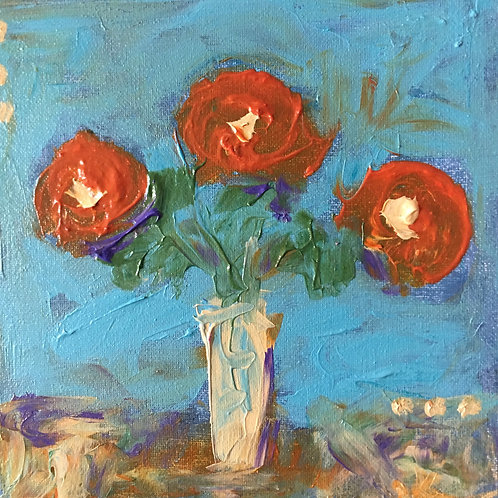 """Life in Bloom 8"""" x 8"""" (1)"""