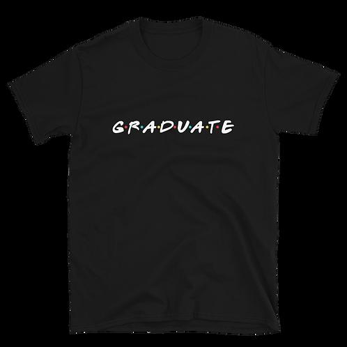 GRADUATE [Friends] - Short Sleeve T-Shirt (dark)