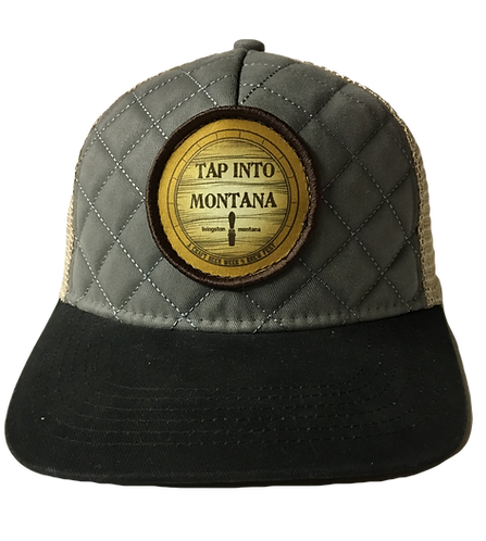 Tap Into Montana Quilted Patch Hat