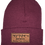Thumbnail: Neptune's Knit Beanie with Leather Patch