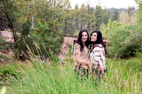 Engagement and couples photography by Melisa Chandler, Payson, Arizona.