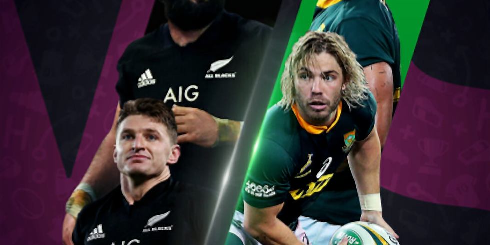 Rugby World Cup Viewing Party: New Zealand v. South Africa