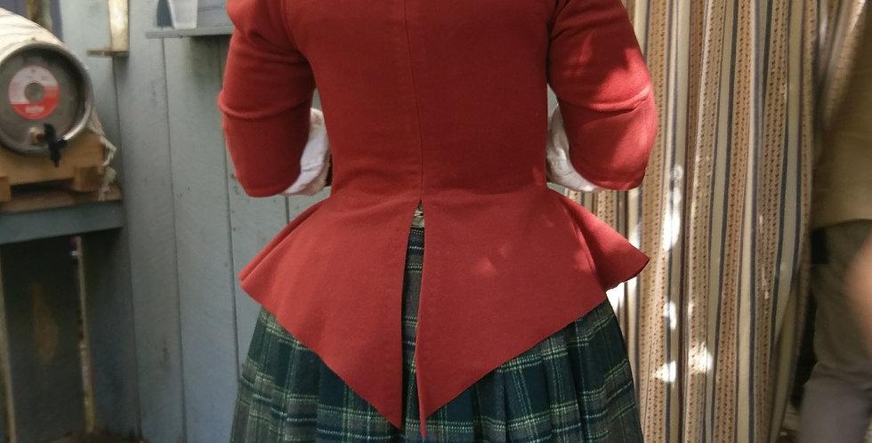 Swallowtail Wool Jacket