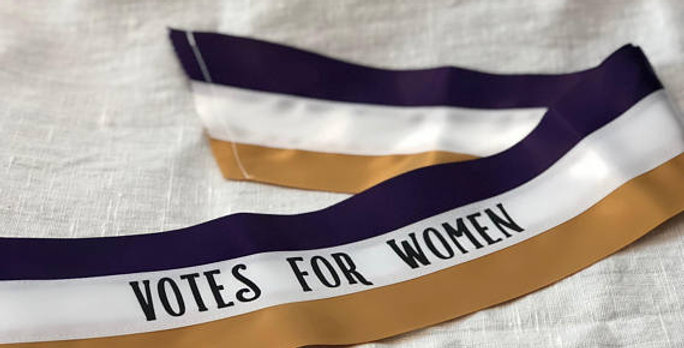 'Votes for Women' Sash - Young Suffragists