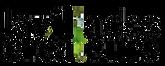 Logo La Villa blanc avec vert  PNG Trans