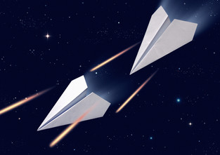 The Finest Paper Planes in the Galaxy