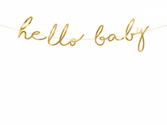 GUIRNALDA HELLO BABY