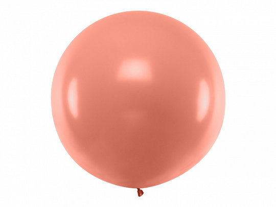 GLOBO LÁTEX XL METALIC ROSE GOLD