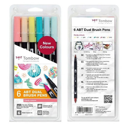 KIT LETTERING TOMBOW CANDY COLOURS