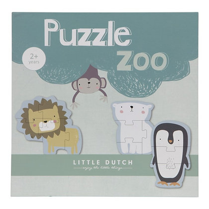 PUZZLE ZOO LITTLE DUCTH