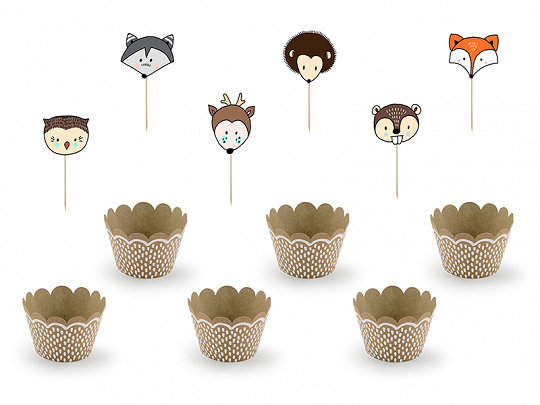 CUPCAKES WOODLAND PARTY