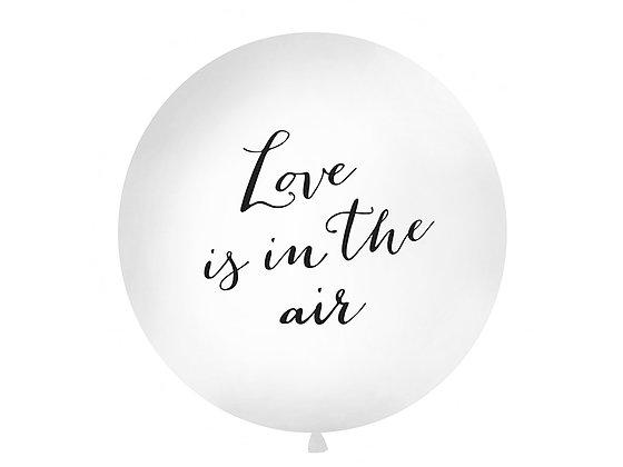 "GLOBO LÁTEX XL ""LOVE IS IN THE AIR"""