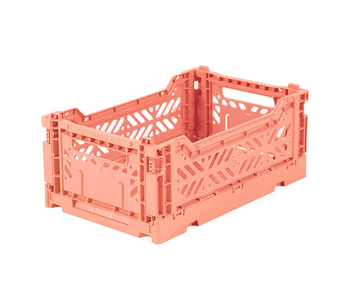 CAJA LILLEMOR PLEGABLE MINI SALMON PINK