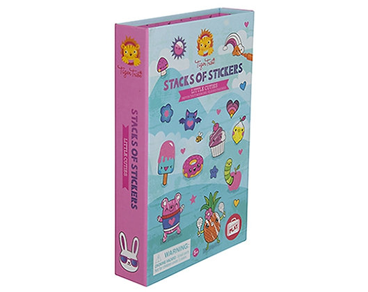 LIBRO DE STICKERS LITTLE CUTIES