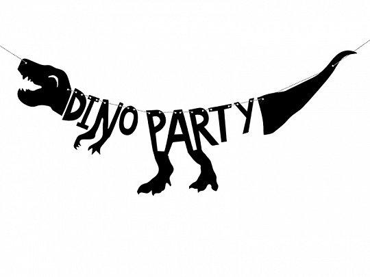 GUIRNALDA DINO PARTY