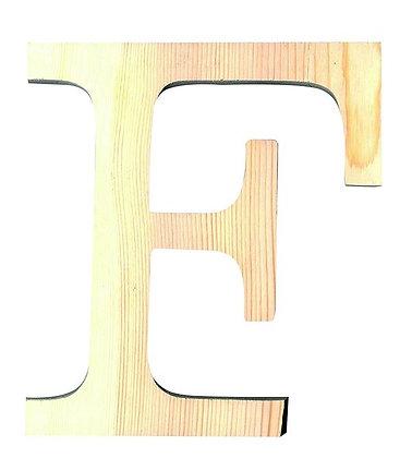 LETRA MADERA PINO 19.CM F