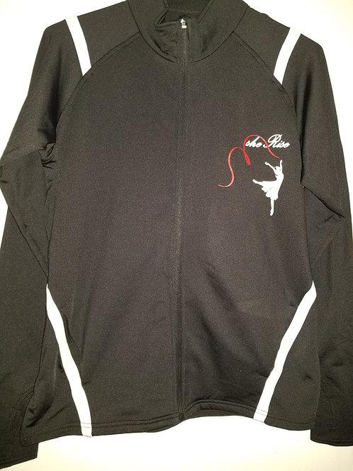 Black & White Yoga Jacket