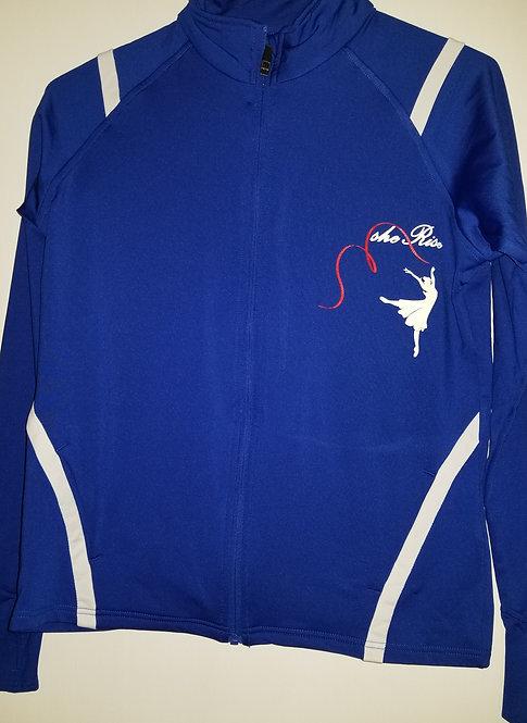 Blue & White Yoga Jacket