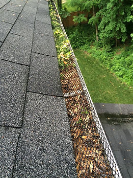 Cheap gutter screens
