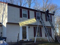 Gutter and fascia wood replacement