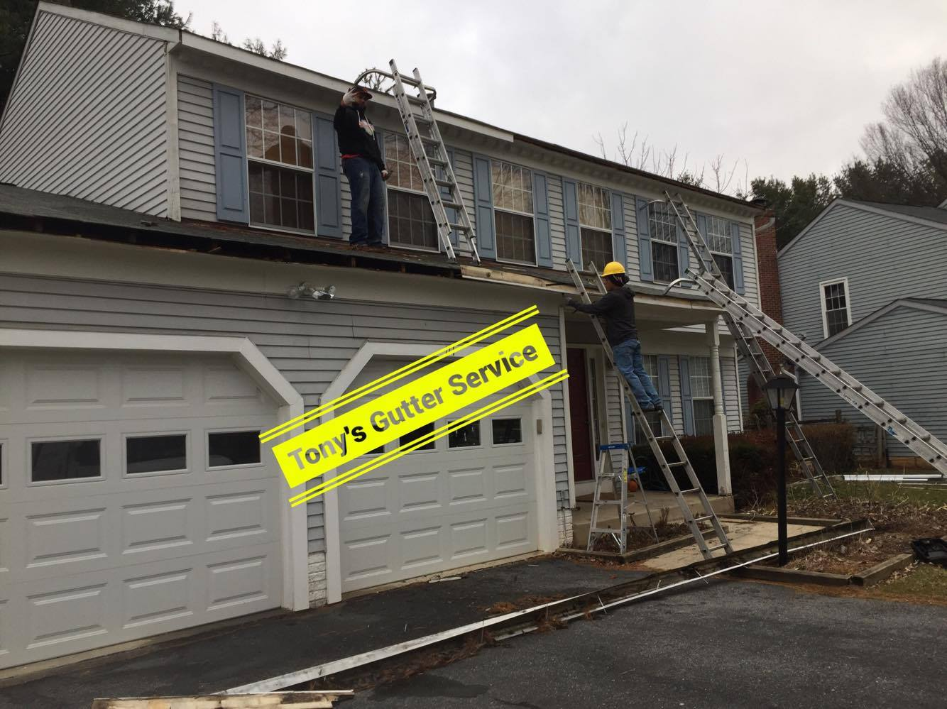 Fascia board and gutter replacement