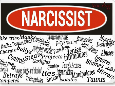 Random Thoughts... Narcissism, And Distraction.
